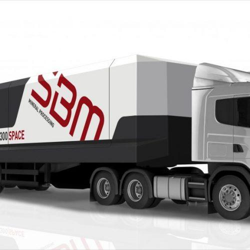 Mobile Betonmischanlage SBM